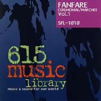 SFL1010 - Fanfare Ceremonial/Marches Vol. 1
