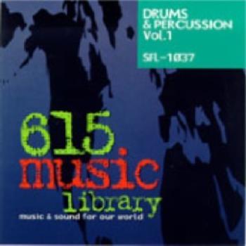 SFL1037 - Drums & Percussion Vol. 1
