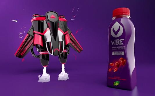 "Vibe Energy Drink ""Jetpack"""