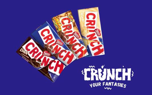 "Nestle Crunch ""October 28th on a Saturday?"""