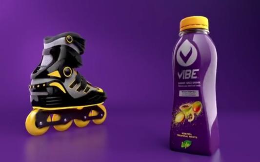 """Vibe Energy Drink """"Roller Skates"""""""
