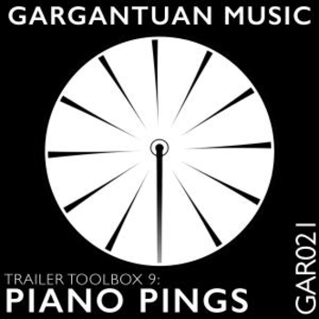 GAR021 Trailer Toolbox 9: Piano Pings Vol 1
