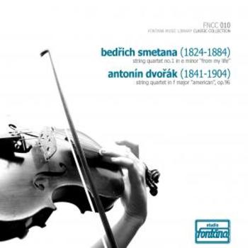 Fontana Classic Collection 10 - Bedrich Smetana & Antonin Dvorak string quartets