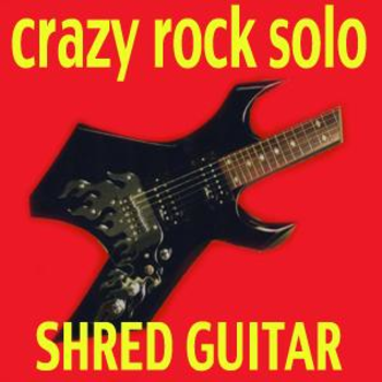 Crazy Rock Solo Shred Guitar
