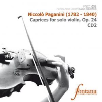 Caprices for solo violin, Op. 24 CD1