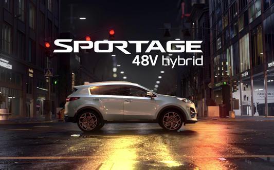 Kia Sportage 48V Hybrid - Kia Greece