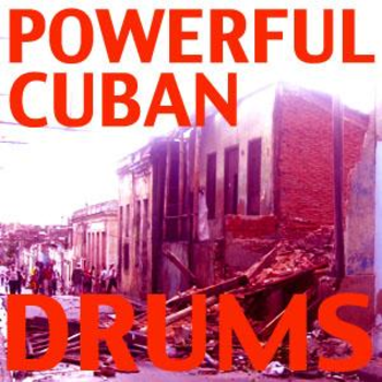 Powerful Cuban Drums