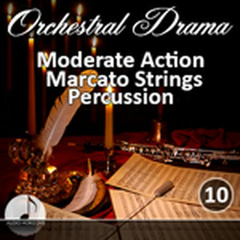 Orchestral 10 Moderate Action, Marcato Strings, Percussion