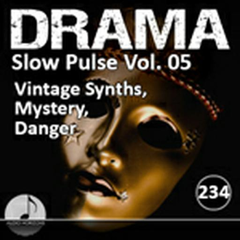 Drama 234 Slow Pulse Vol 05 Vintage Synths, Mystery, Danger