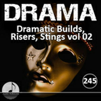 Drama 245 Dramatic Builds, Risers, Stings Vol 02