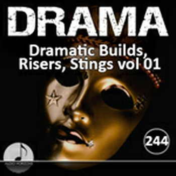 2357 Drama 244 Dramatic Builds, Risers, Stings Vol 01