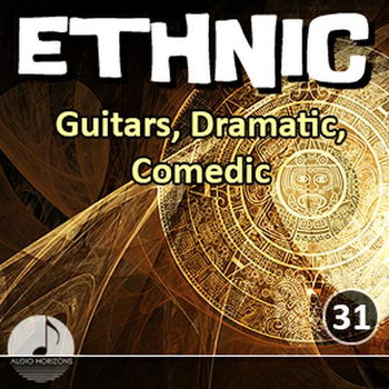 Ethnic 31 Guitars, Dramatic, Comedic