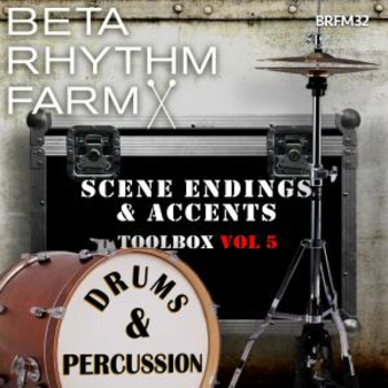 Scene Endings & Accents Toolbox Vol 5 Drums & Percussion BRFM32