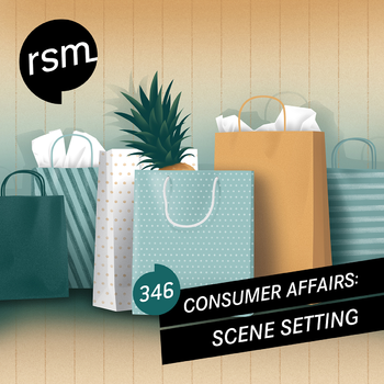 Consumer Affairs: Scene Setting