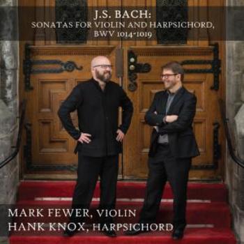 J.S. Bach: Sonatas for Violin and Harpsichord, BWV