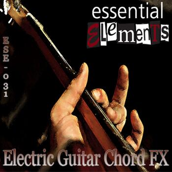 Electric Guitar Chord FX