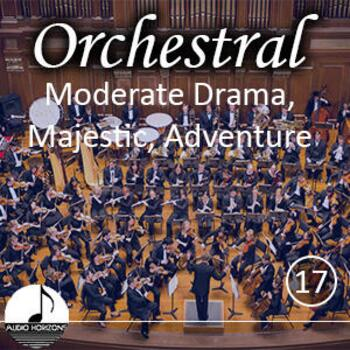 Orchestral 17 Moderate Drama, Majestic, Adventure
