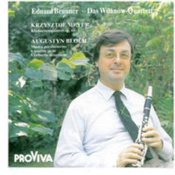 ISPV 147 - AVANT-GARDE FOR CLARINET - Eduard Brunner