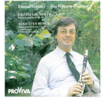 AVANT-GARDE FOR CLARINET - Eduard Brunner