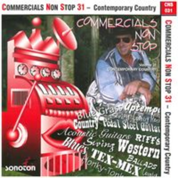 COMMERCIALS NON STOP 31 - Contemporary Country