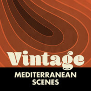 VINTAGE MEDITERRANEAN SCENES