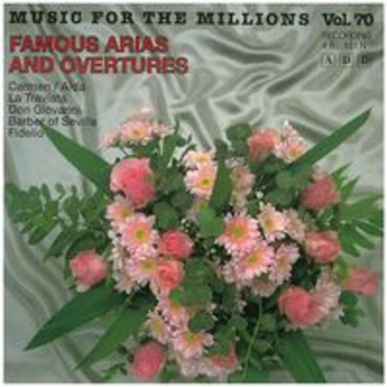 FAMOUS ARIAS AND OVERTURES