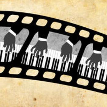 SILENT MOVIE PIANO - Robert Bruce