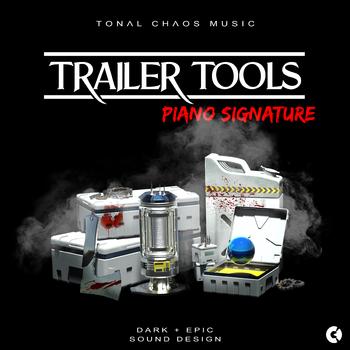 Trailer Tools - Dark Epic Sound Design - Piano Signature