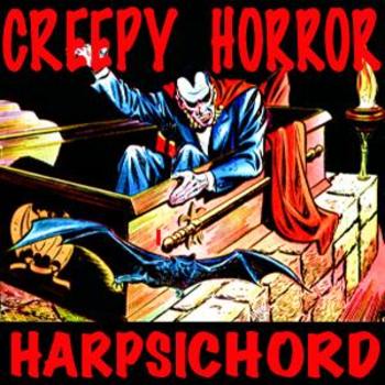 Creepy Horror Harpsichord