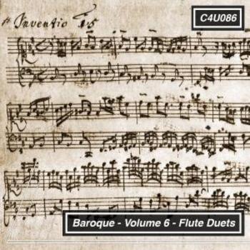 Baroque Volume 6 Flute Duets
