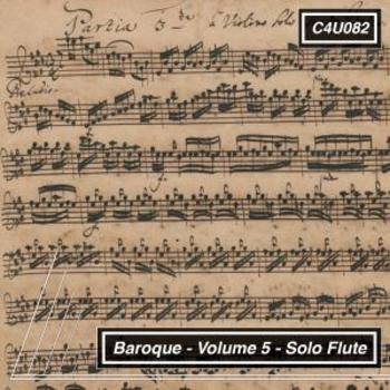 Baroque Volume 5 Solo Flute